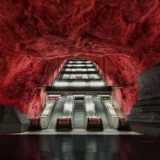 Красивые станции метро, как предмет искусства
