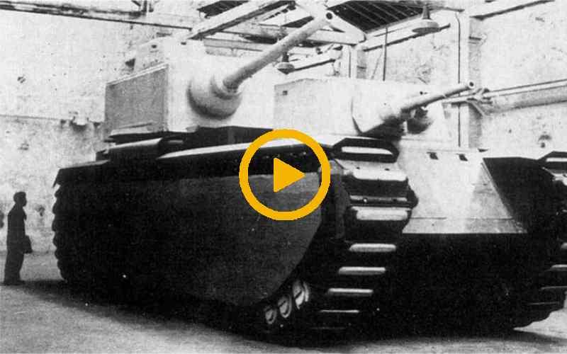 Самые большие танки в истории показали на видео