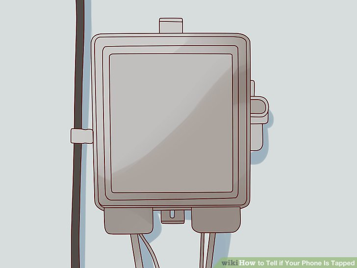 Обратите внимание на внешнюю телефонную коробку