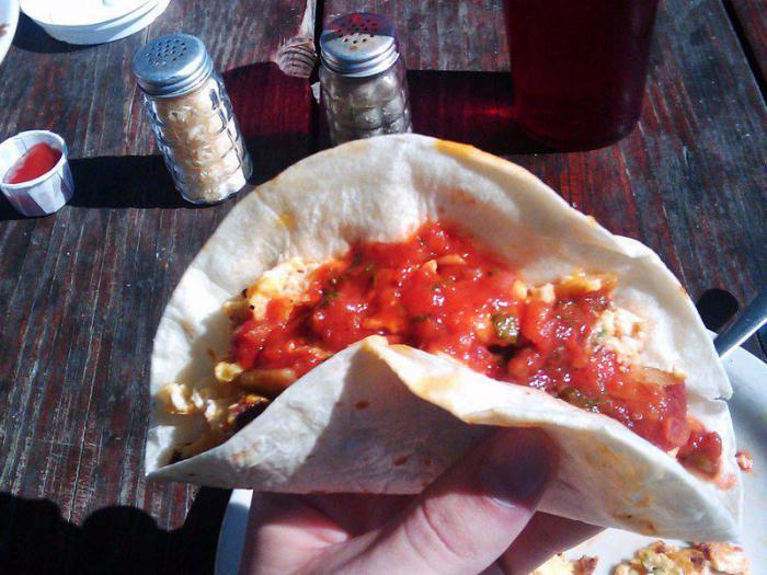 Taco Bell – мягкое тако для завтрака