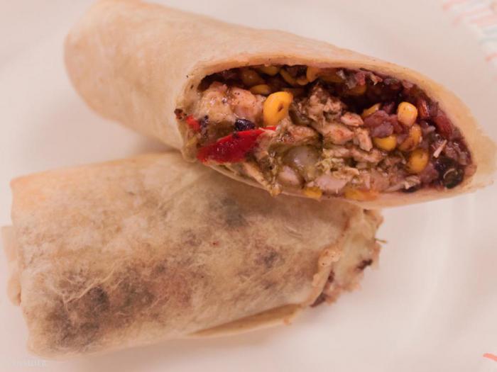 Pret A Manger – юго-западный ролл для завтрака