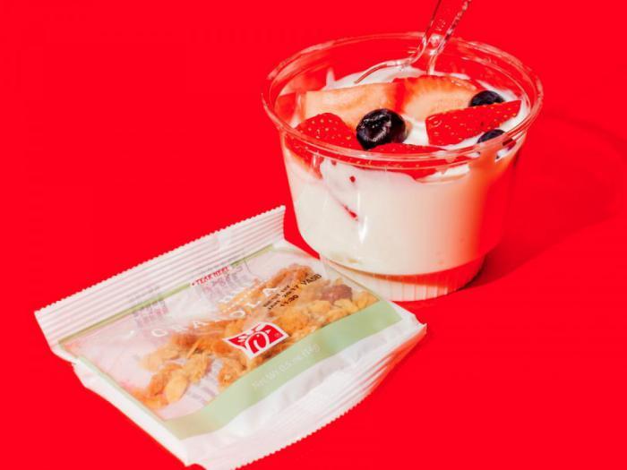Chick-Fil-A – парфе из греческого йогурта