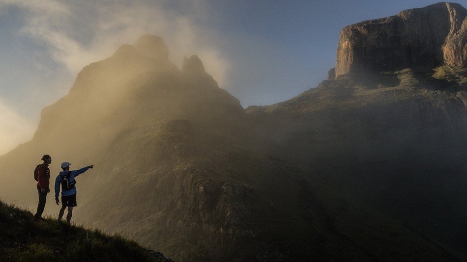 Проход Дракенсберга в Южной Африке