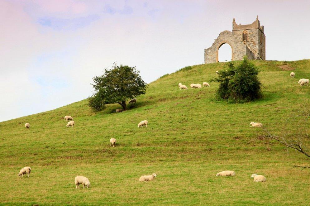Церковь Святого Майкла, графство Сомерсет.