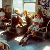 «Ад на колесах»: интересные фото нью-йоркского метро 80-х годов
