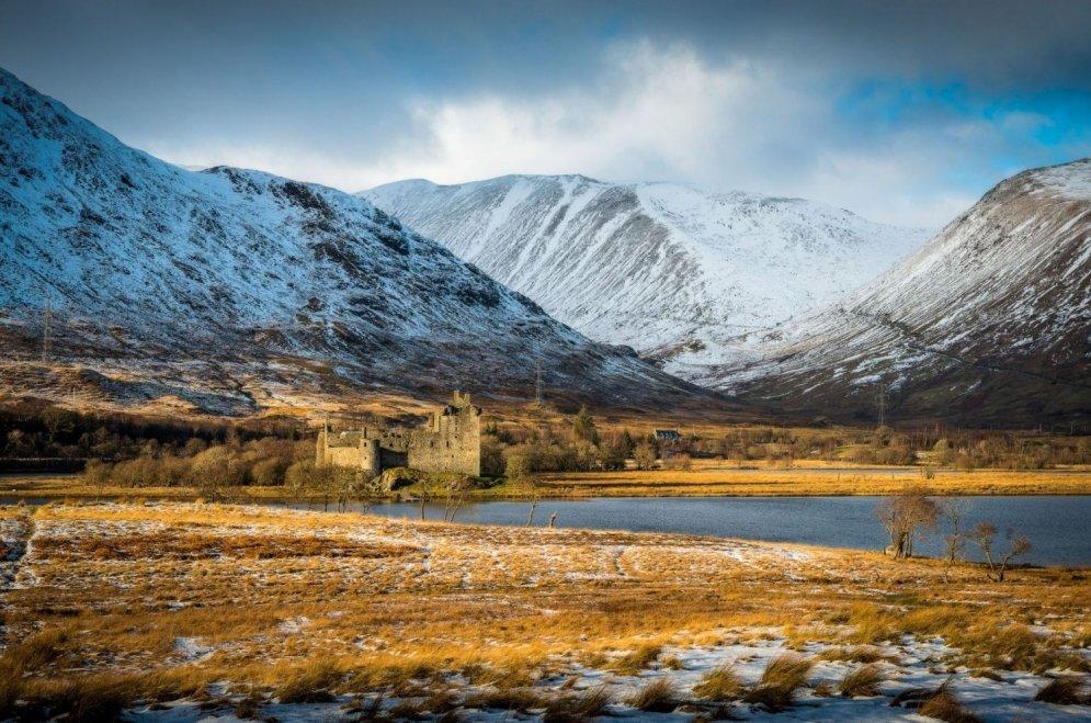 Замок Килчерн, Шотландия.