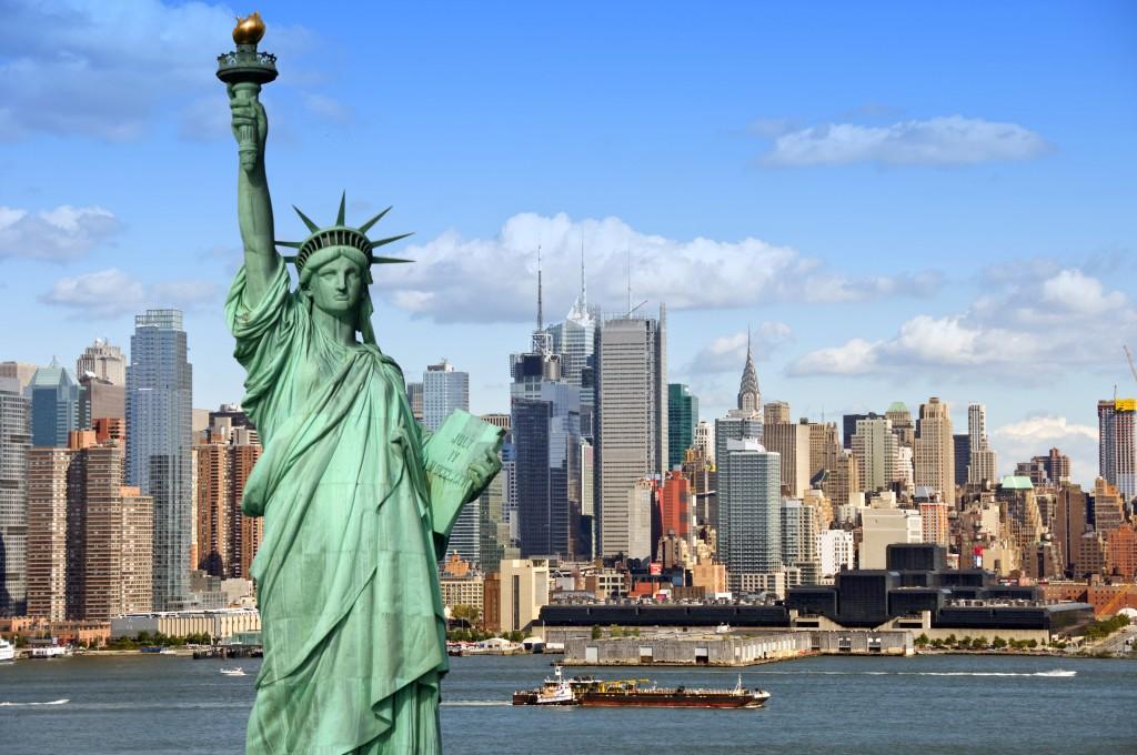 1. Нью-Йорк (CША)