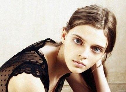 Девушка с самыми большими глазами Мария Тельная