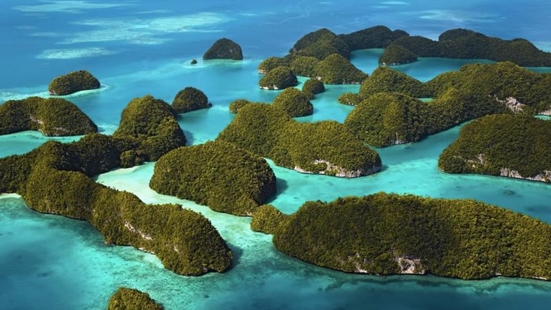 Скалистые острова, Палау