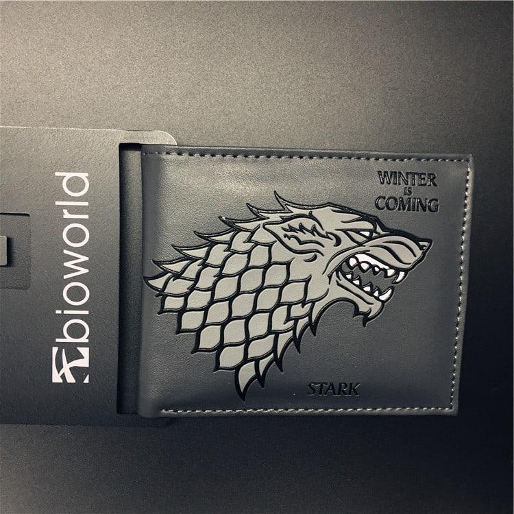Мужской Кожаный Бумажник «Игра престолов»