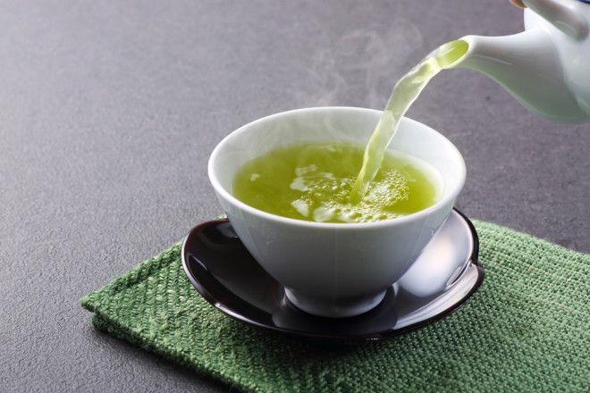 6. Зеленый чай