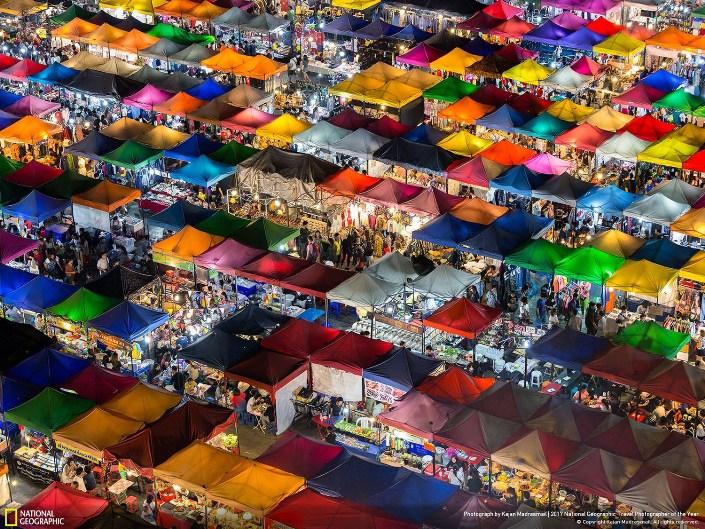 Рынок в Бангкоке Фото: Kajan Madrasmail