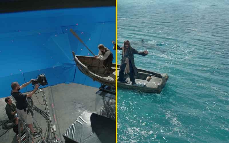 Как делали спецэффекты в фильме «Пираты Карибского моря: Мертвецы не рассказывают сказки»