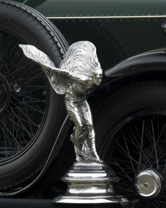 «Дух Экстаза» стал символом Роллс-Ройс.