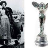 История появления статуэтки, на капоте Роллс-Ройса
