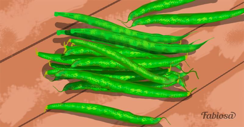 1. Зеленая фасоль