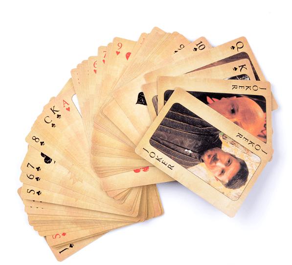 Игральные карты с героями сериала «Игры престолов»