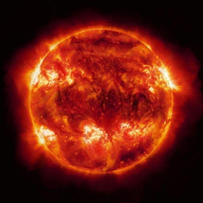 Энергия одной вспышки просто невероятна
