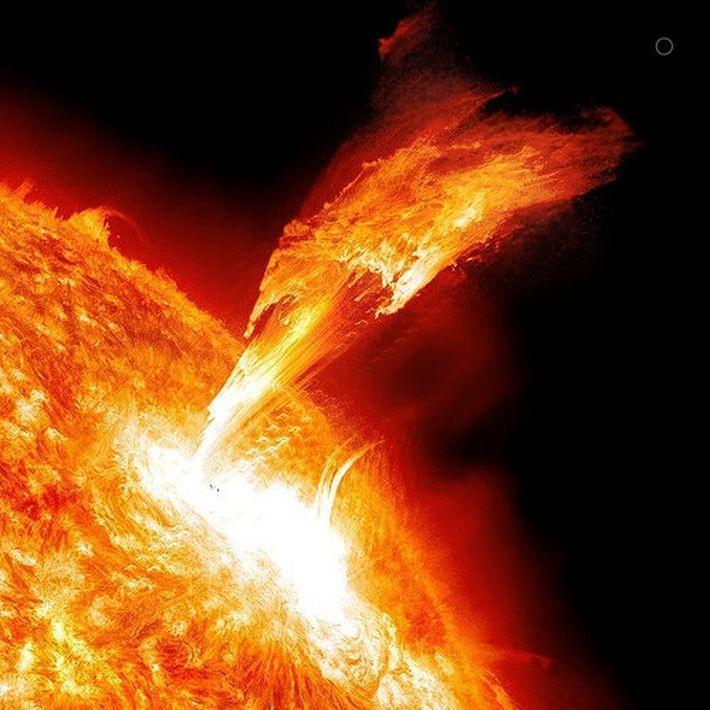 Звёздные вспышки происходят с потрясающей скоростью