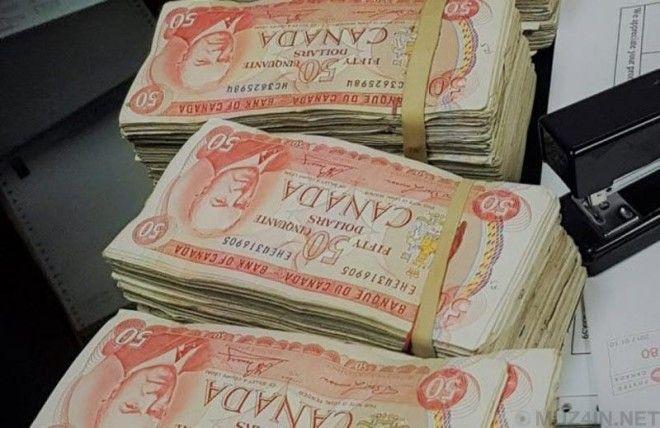 Мужчина из Онтарио спрятал 100000 долларов в телевизоре