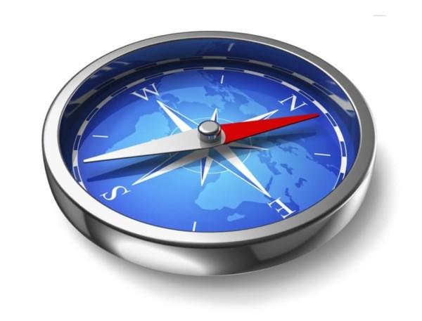 13. В зоне Бермудского треугольника компас показывает неверное направление