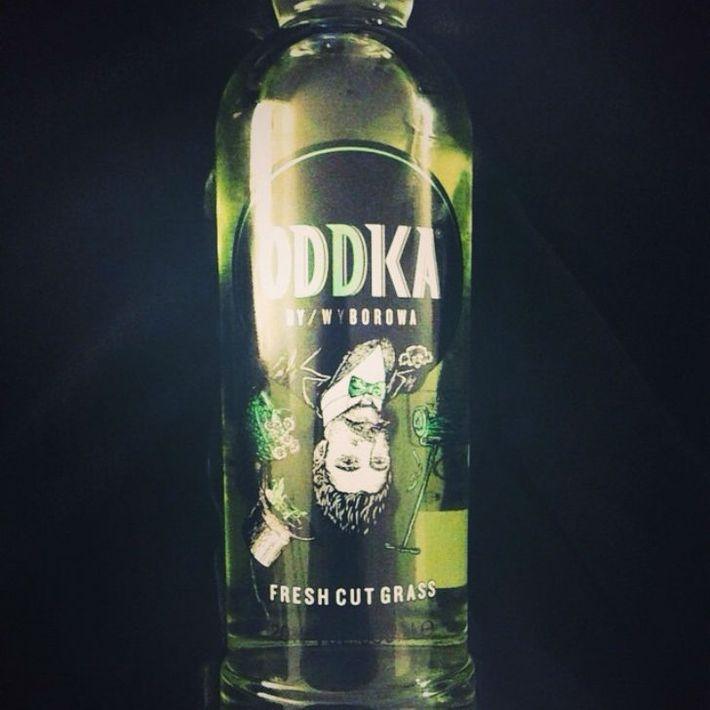 Польская водка со вкусом свежескошенной травы