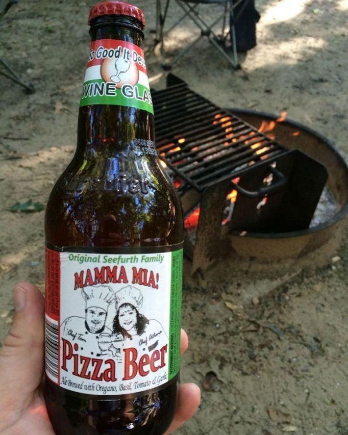 Американское пиво со вкусом пиццы