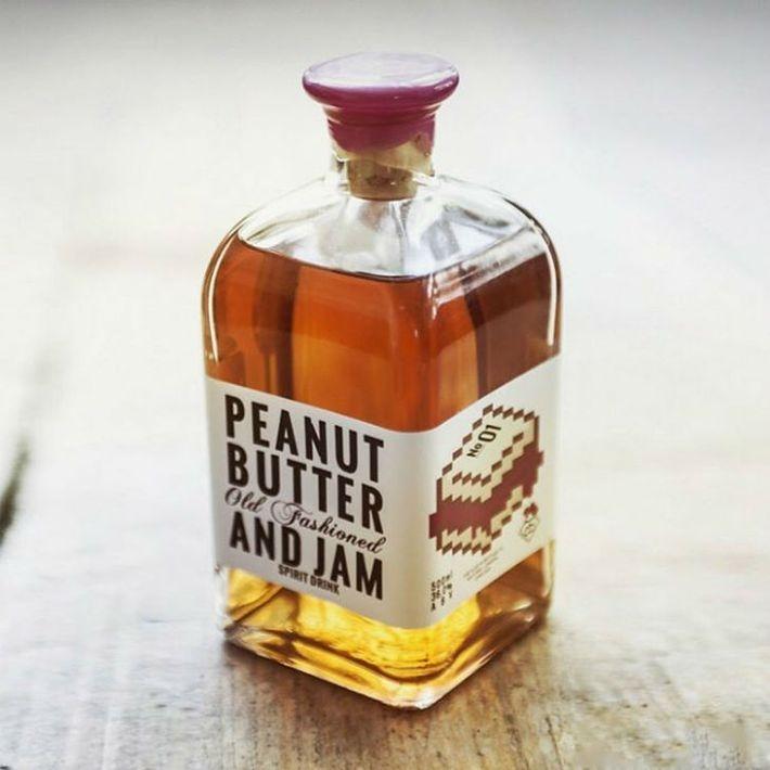 Британский бурбон со вкусом арахисового масла и джема