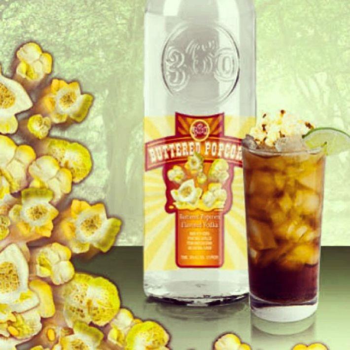 Водка со вкусом попкорна с маслом