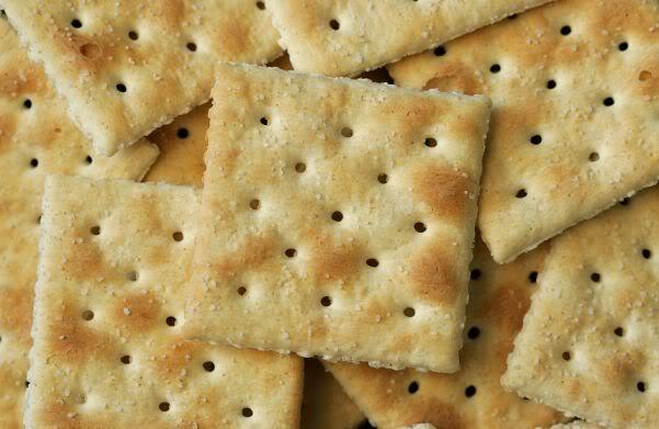 1. Соленый крекер