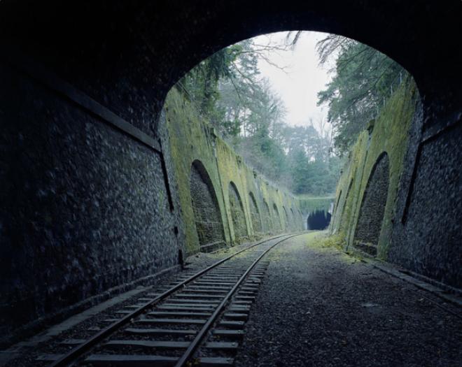 160-летняя железная дорога в Париже, Франция