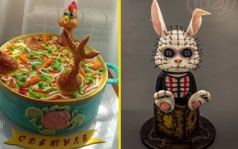 30 абсолютно безумных тортов, которые похожи на что угодно, только не на сладости