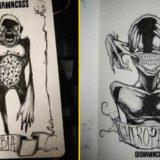 30 человеческих страхов в рисунках художника Шона Косса