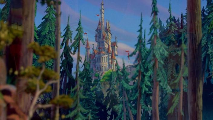 «Красавица и Чудовище» — Замок Шамбор, Луар и Шер, Франция