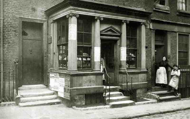 Фотографии Лондона времён Шерлока Холмса