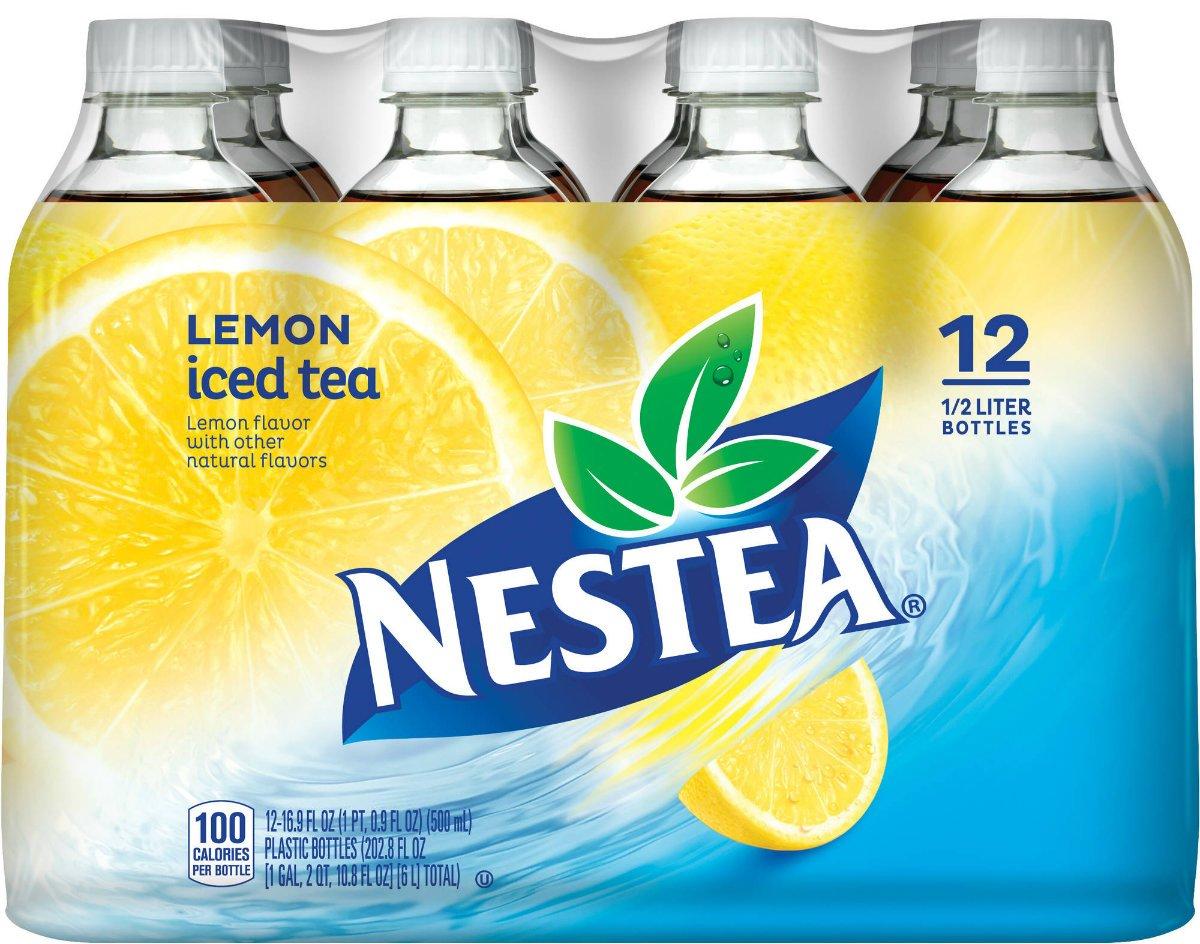 8. Бутилированный лимонный чай