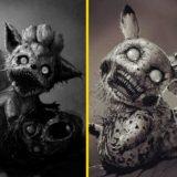 Дэвид Сзиладжии из покемонов сделал ужасных монстров