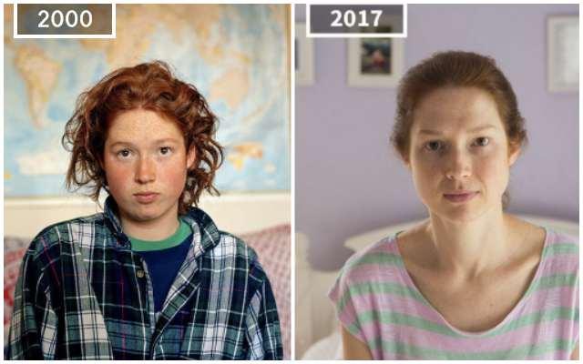 Как изменится внешность человека за 17 лет