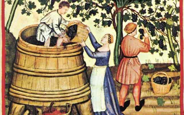 Какой алкоголь пили в древности