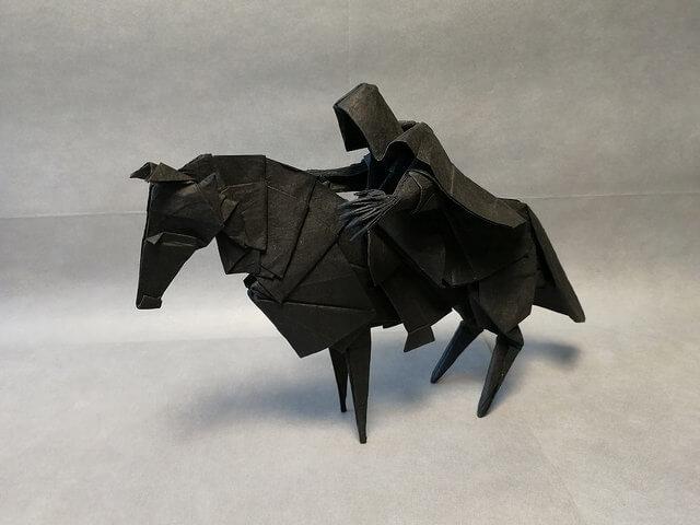 оригами персонаж Гарри Поттера Назгул
