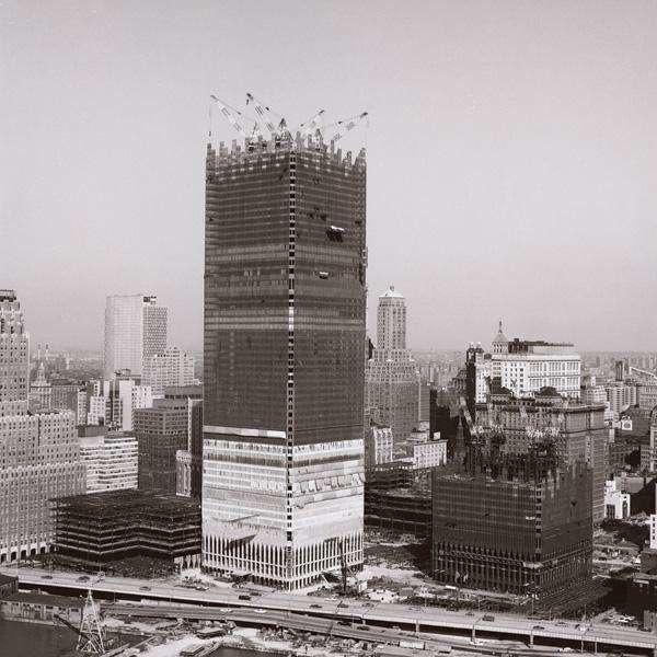 Всемирный торговый центр, Нью-Йорк, 1970 год