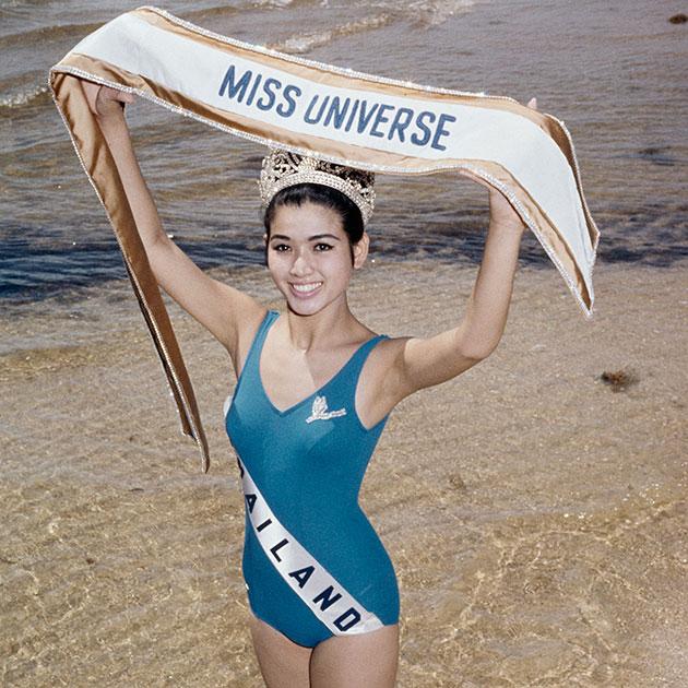 Aпасра Хонгсакула, Таиланд. Мисс Вселенная-1965