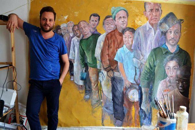 Сирийский художник Абдалла аль-Омари (Abdalla Al Omari)