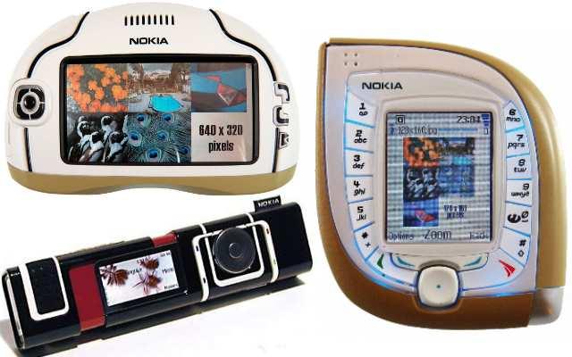12 Самых странных и необычных телефонов Nokia