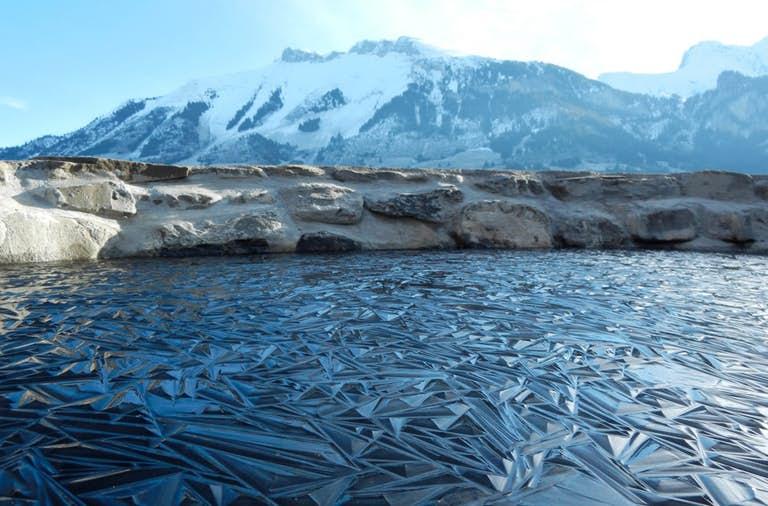 Замерзшее озероСанкт-Мориц