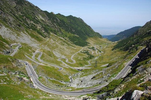 Дорога Трансфагараш, Румыния