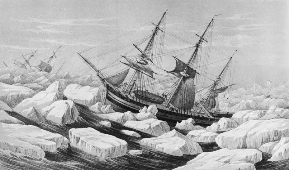 Разрушенные корабли