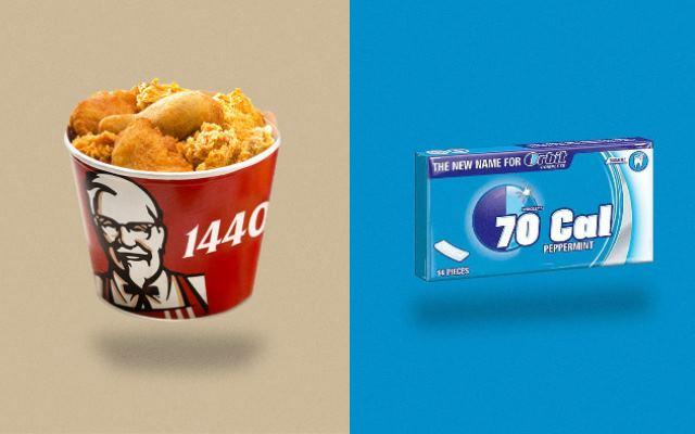 Любопытныйпроект Calorie Brands для любителей считать калории