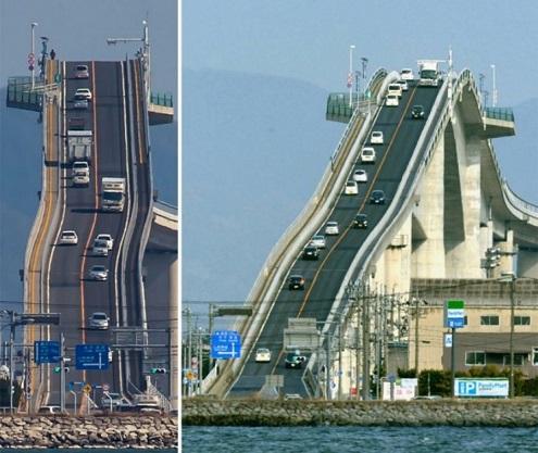 Мост Эсима Охаси, Япония