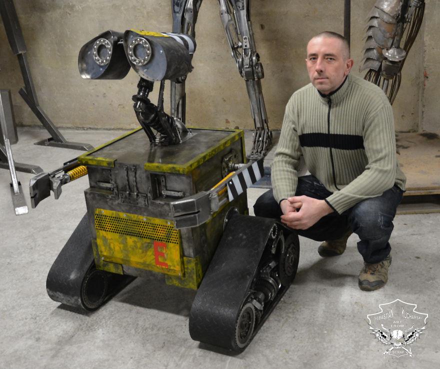Себастьян Кухарский роботы
